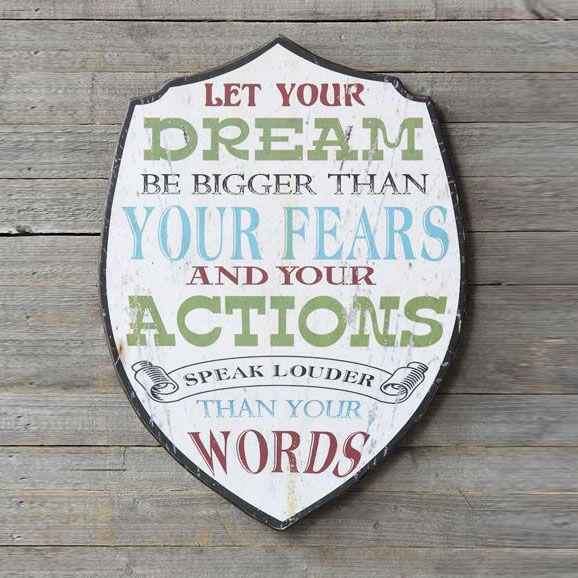 Dream Message Plaque