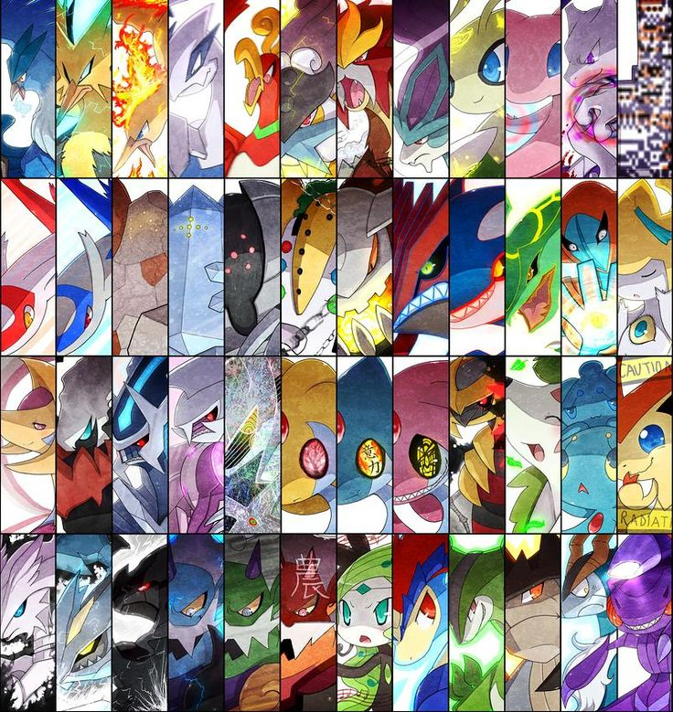All Legendary Pokemon