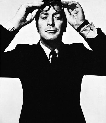 """Mr. Caine.    photo by David Bailey.  Will never forget the wedding scene in, """"Man Who Would be King,"""" and so many other things M. Caine did...."""