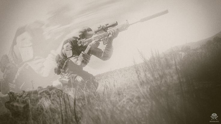 "Arma 3 -Promotional image from upcoming addon ""SMU - The Operators"" by Braveblades #Arma #Arma3 #VRBP #Military #Operators #SOF #SF #Graphics"