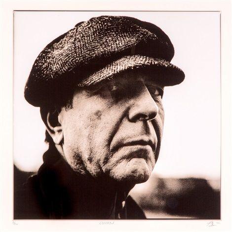 Leonard Cohen by Anton Corbijn