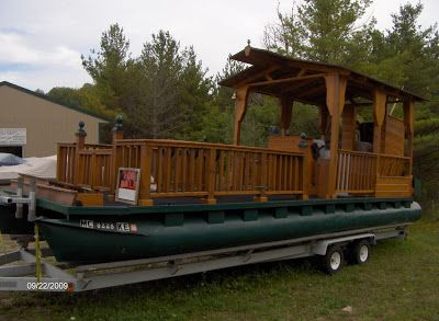 A Pontoon Boat Walks Into A Woody Boat Bar…… | Classic Boats / Woody Boater