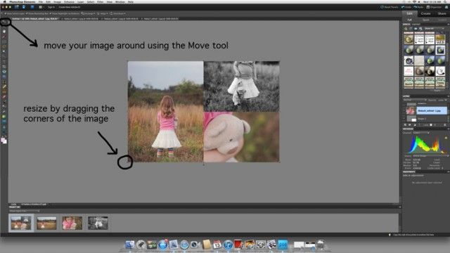 How to create collage templates in Photoshop Elements by Melissa Green
