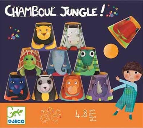 Festa - Chamboul' Jungle  -  Organizar festas em casa pode ser simples e divertido com este clássico jogo que vai agradar todos os participantes.