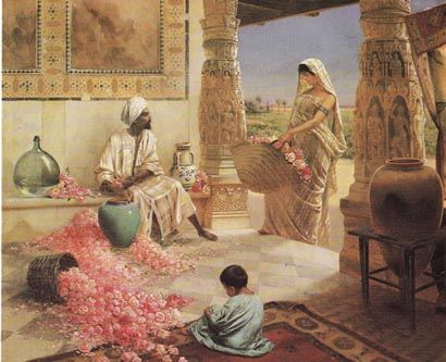 The Perfume Maker.... by Rudolph Ernst (1854-1932)