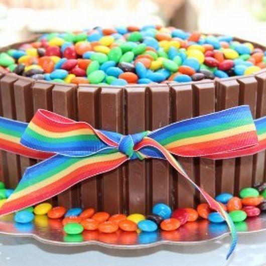 4 4 5 Recipe Kit Kat Cake Kitkat Cake Birthday Cakes For Teens