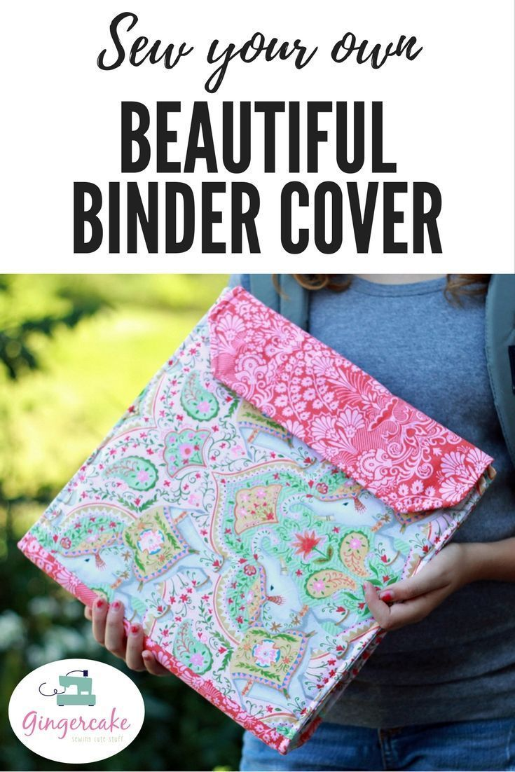 Notebook Slipcover Pdf Sewing Pattern Craft Ideas Sewing