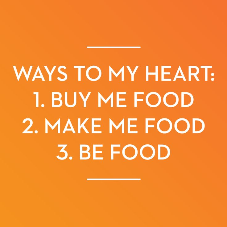 Who else is having a romantic relationship with food?!  #fitnesshumor We feel this...SO much!