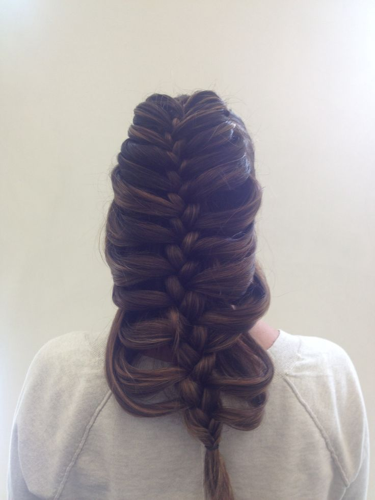 Pencil Braid Trenza Con L 225 Piz Hair Pinterest Pencil