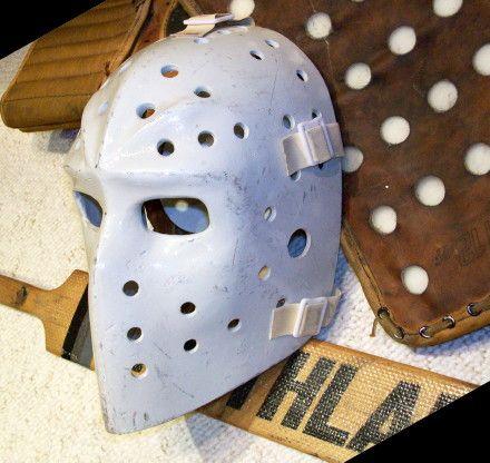 pelle lindberg vintage goalie masks