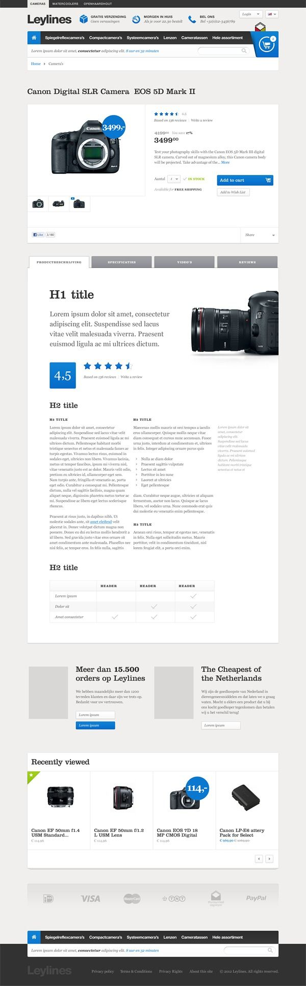 Leylines on Behance in Corporate/interface