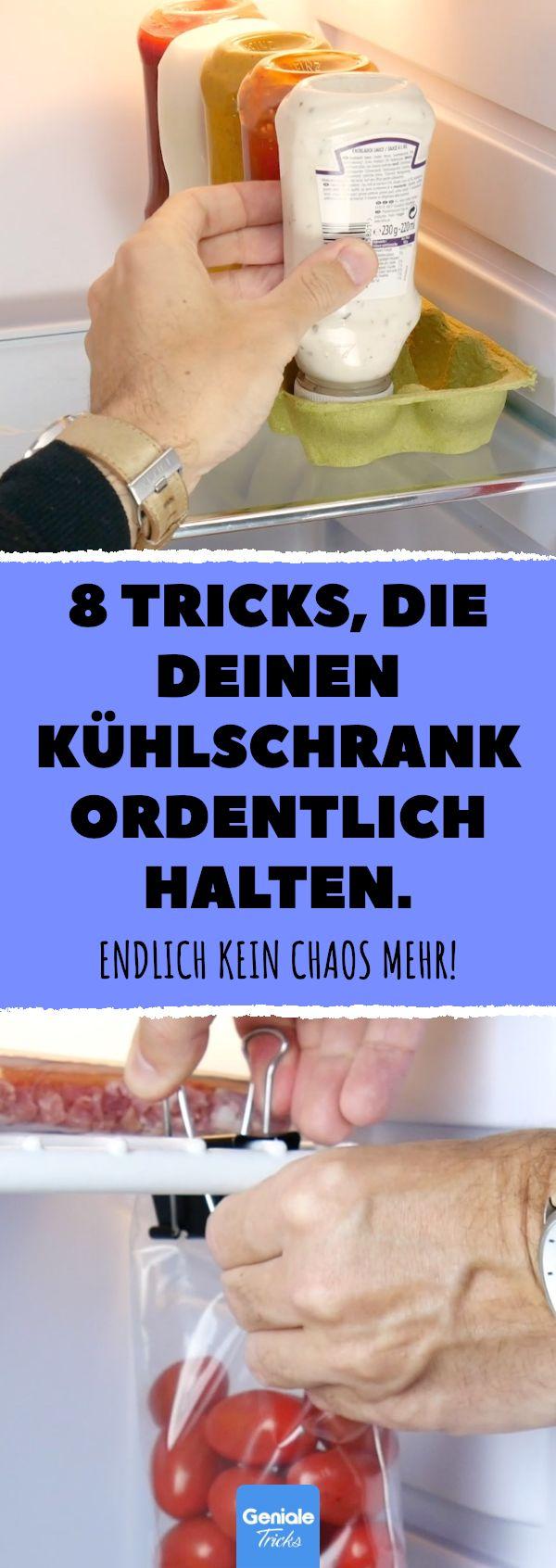 8 Tricks, die deinen Kühlschrank ordentlich halte…