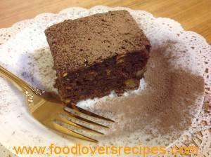 CHOCOLATE ORANGE AND BANANA CAKE