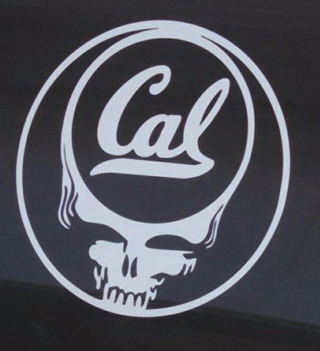 Cal State Bears,Grateful Dead decal,die-cut vinyl sticker,steal your face,