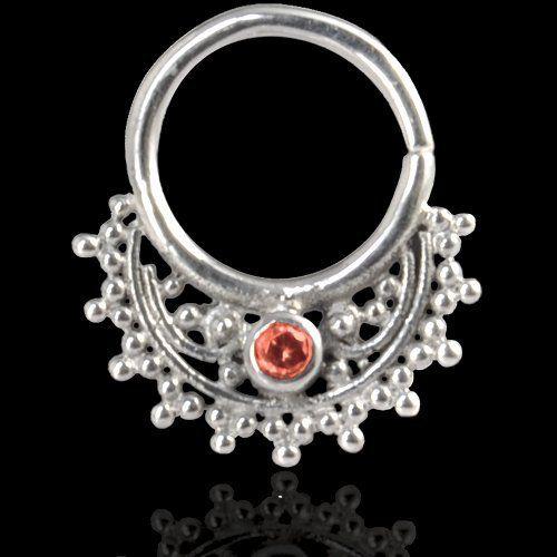 Septum Piercing Orientale da Setto Nasale in Argento Septum Ring Indian Ornamental Silver Swarovski Rosso Micromutazioni http://www.amazon.it/dp/B00U6RXL6M/ref=cm_sw_r_pi_dp_XY-evb0R2ZX60