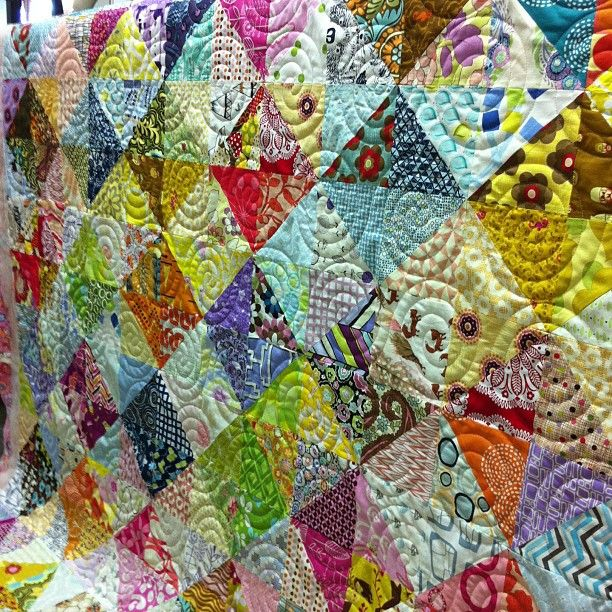 Krista Withers Quilting: Maze and Swirls