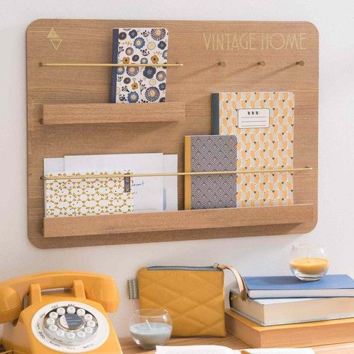 Porte-courrier mural VINTAGE HOME 24€                                                                                                                                                                                 Plus