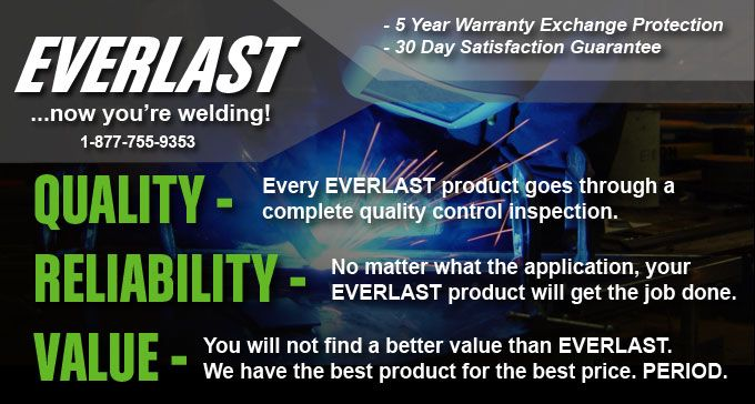 If you are looking to buy welders at factory price,Everlast Welds is best option for you in Australia..