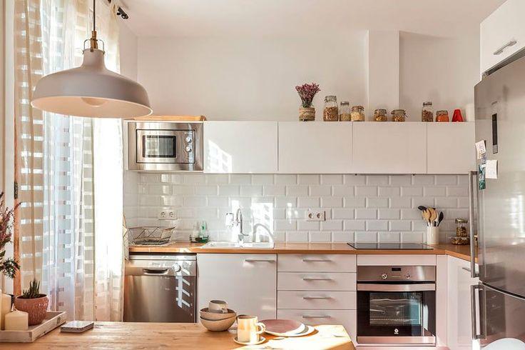Post: Hogares de nuestros lectores – Anna en Barcelona --> blog decoración nórdica, casas reales decoración, estilo nórdico barcelona, estilo rústico nórdico, hogares de nuestros lectores, madera natural, muebles de diseño, vintage