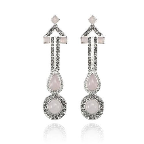 Sweeping Views Earrings in Rose by Samantha Wills