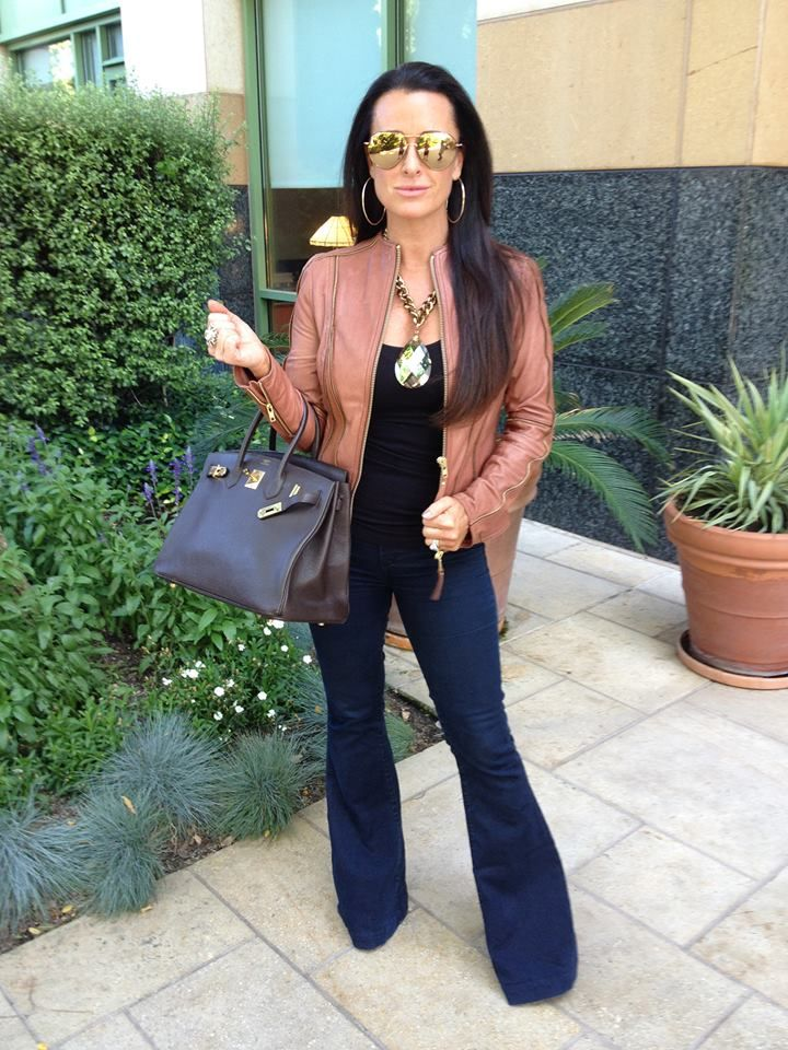 LOVE Kyle Richards and her style