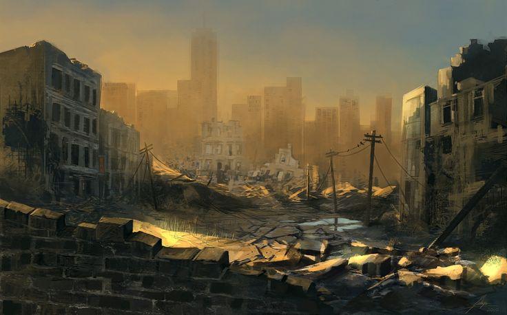city of ruins by freelancerart.deviantart.com on @deviantART