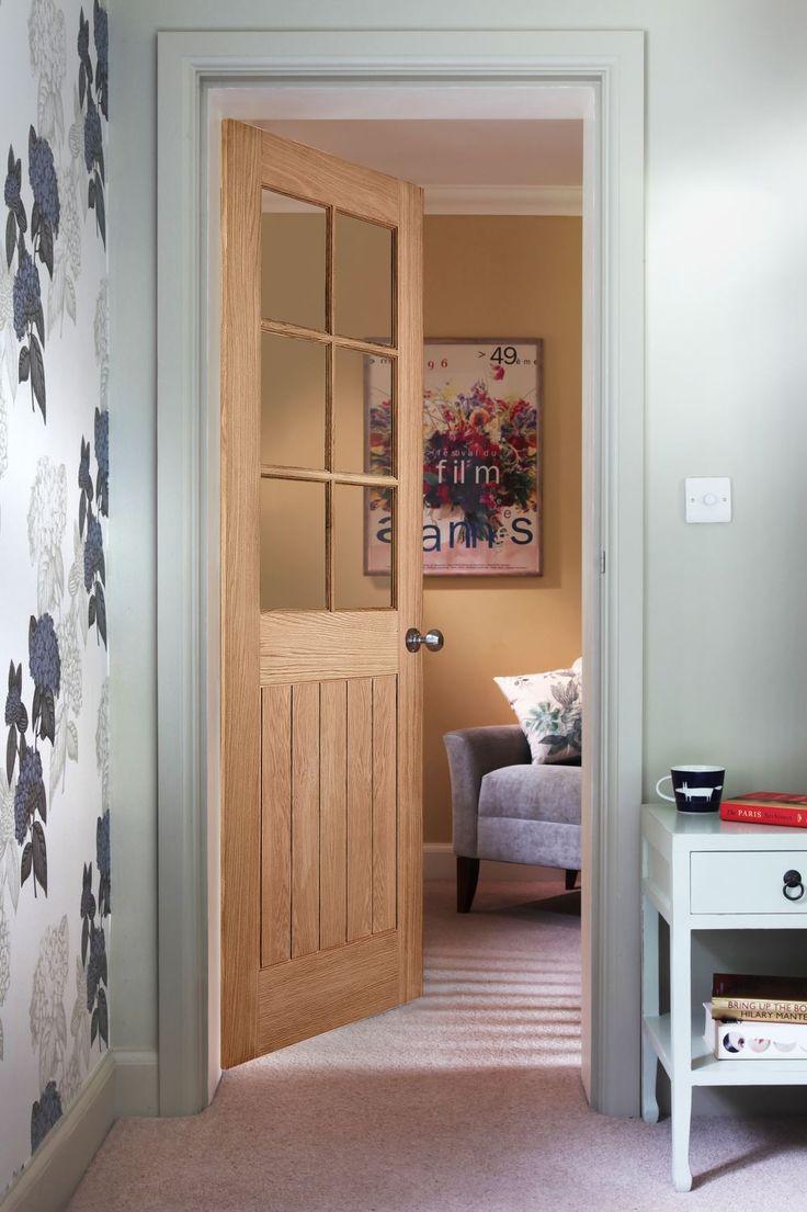 Cottage 6-Light Oak Door & 13 best Cottage Doors images on Pinterest   Cottage door Cabins and ...