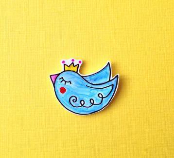 Mini Mavi Kuş
