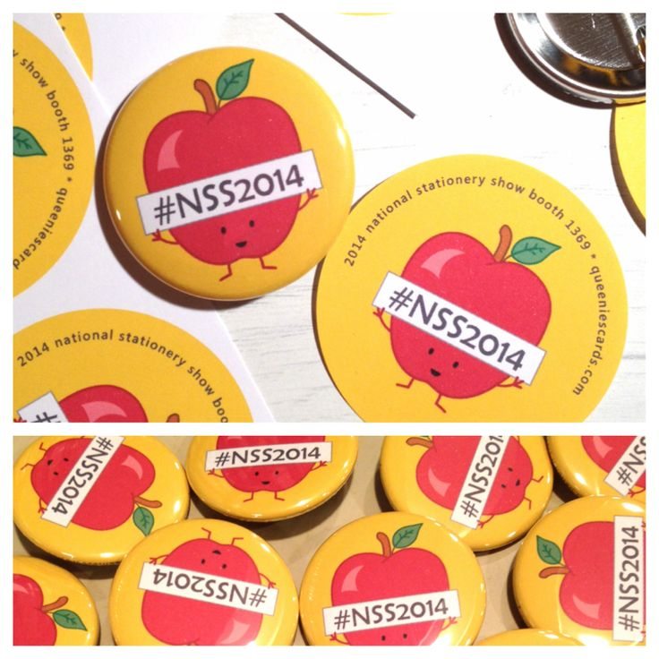 NSS2014 pinback buttons! Visit us at booth 1369 to get yours!