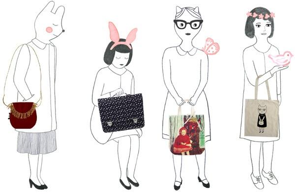 illustration for Papier Mache by Audrey Jeanne
