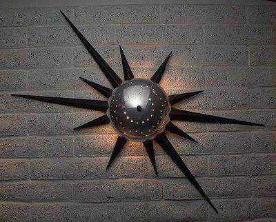 atomic starburst. mid century modern