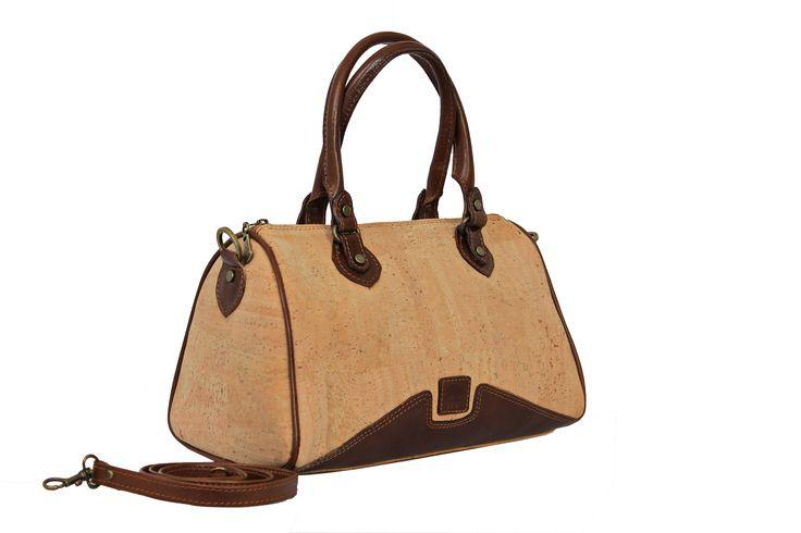 Lady Handbag | Cork Handbag | Removable strap