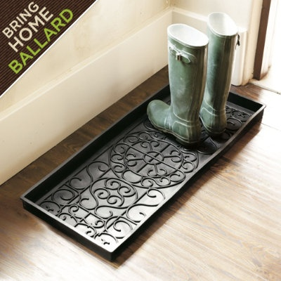 "I live in Minnesota: gotta have a boot tray. $15 (34.25"" x 14.25"")"
