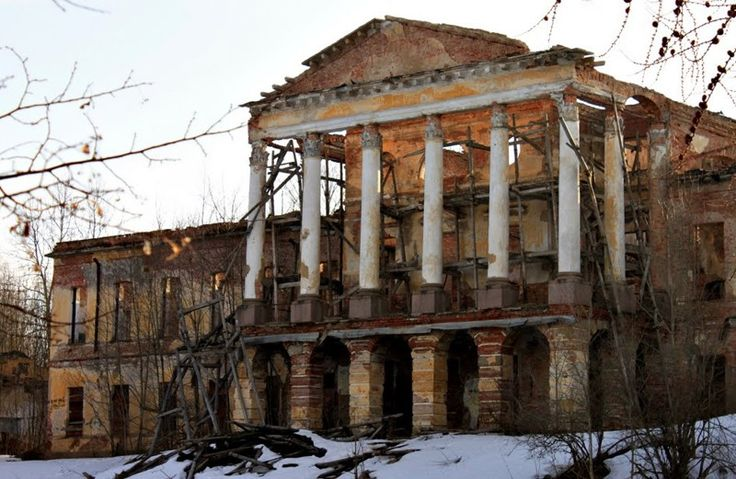 Beautiful Abandoned places of Russia