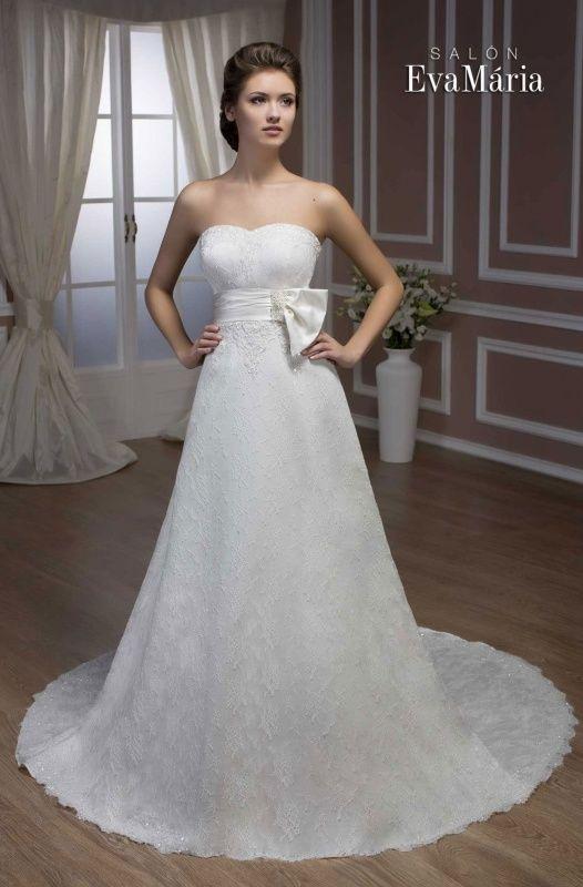 Svadobné šaty - empírový strih