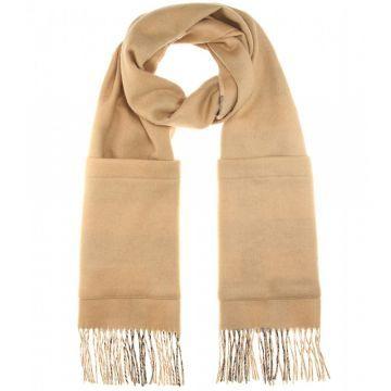 Cashmere and merino wool blend scarf - Şal, Sarı #askmoda #alisverisbirask #burberry #burberryşal #burberryscarf #scarfmodels #burberry2015