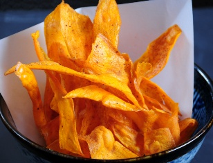 SWEET POTATO CHIPS WITH SEVEN SPICES
