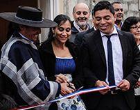 Inauguración sede Que lindo es mi Chile