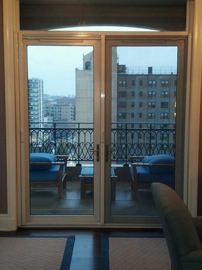 Best 25 french door screens ideas on pinterest patio for Motorized shades for french doors