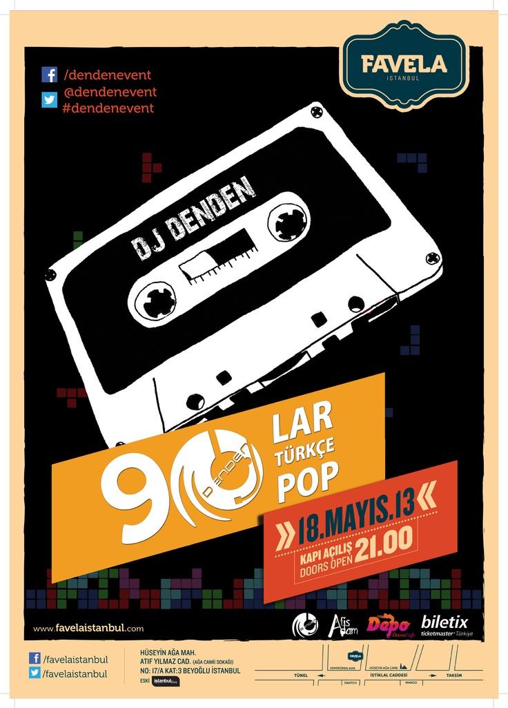 90'lar Türkçe Pop Partisi - 18 Mayıs