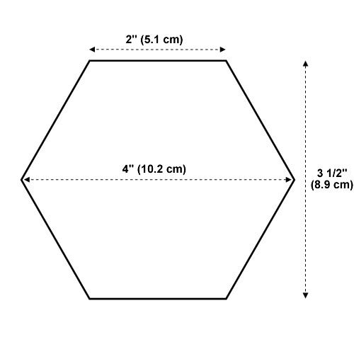 This is a graphic of Persnickety Free Printable Hexagon Template