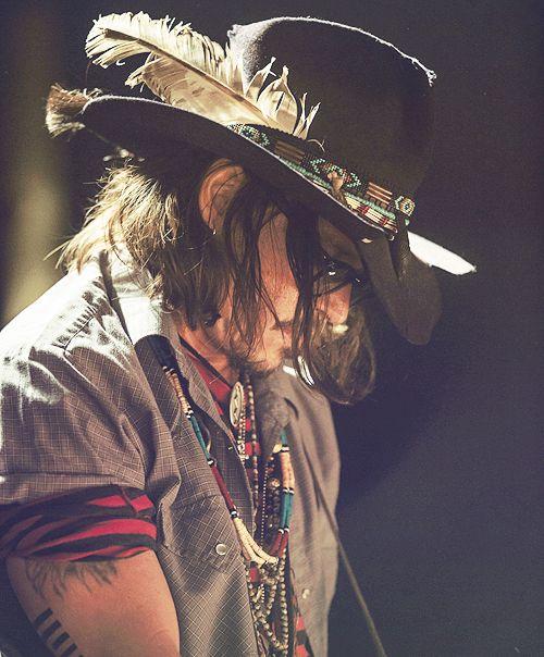 Johnny Depp. Bohemian.