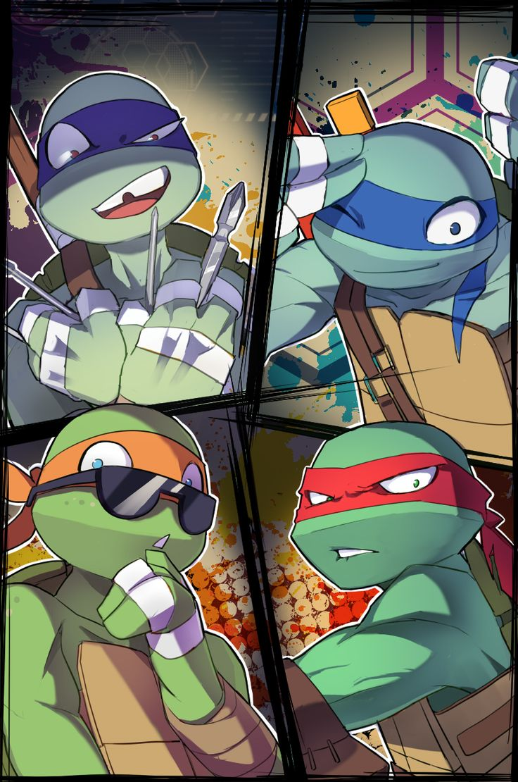 UNUSED PIC by kyutover.deviantart.com on @DeviantArt | TMNT 2012