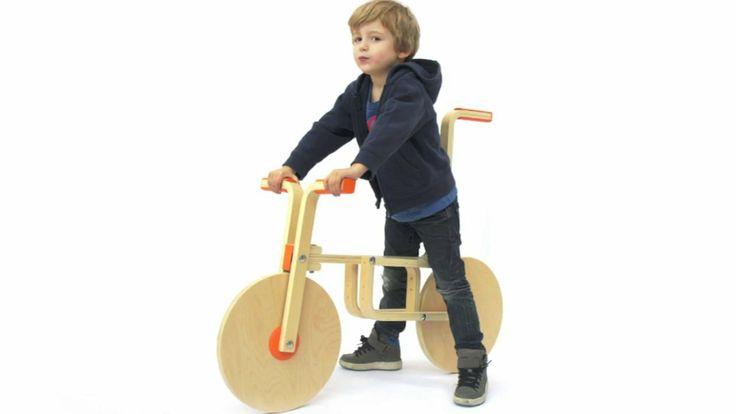 Check out how you can convert a stool into a bike!