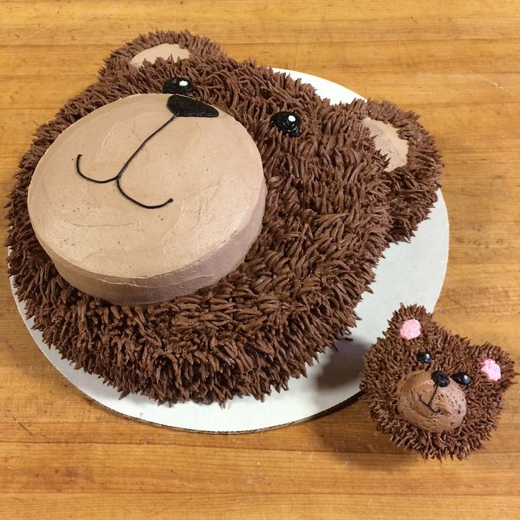 Cake Design Teddy Bear : https://flic.kr/p/pkzbfB photo 5 Teddy bear face cake ...