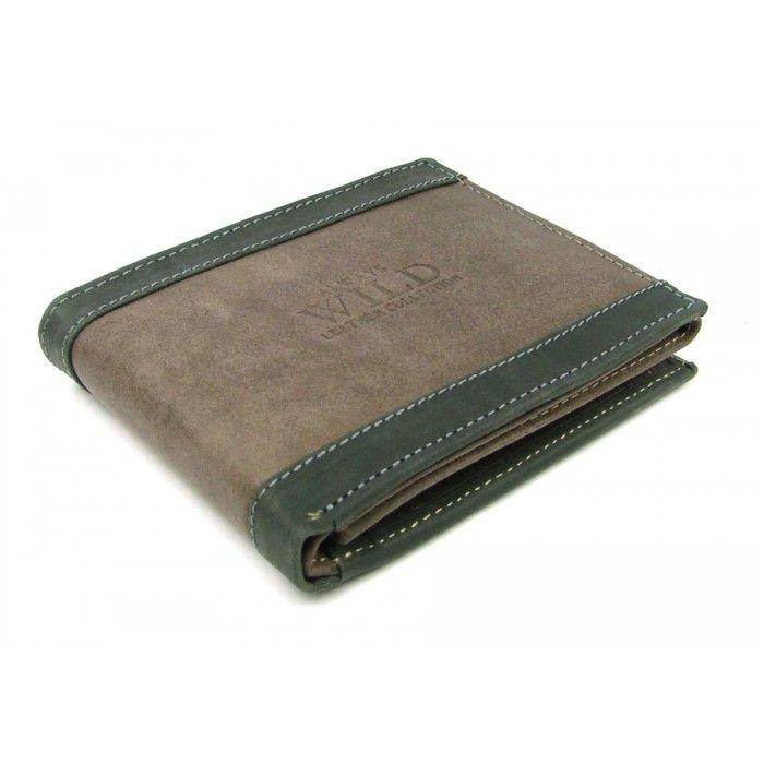Peněženka moderní pánská kožená - peněženky AHAL