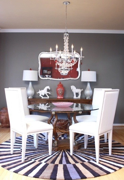 gray dining room by kporter1 photo