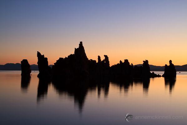 Mono Lake Silhouette