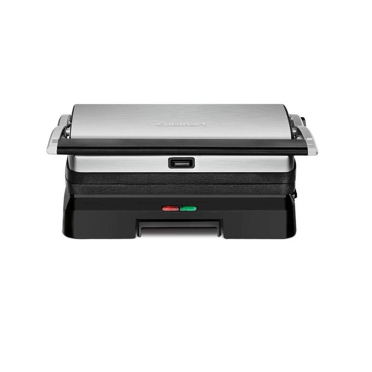 Griddler Grill and Panini Press, Brushed Stainless Steel