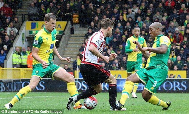 Fabio Borini accuses ex-Liverpool team-mate and Norwich player Andre Wisdom of 'almost breaking his leg' in Sunderland win